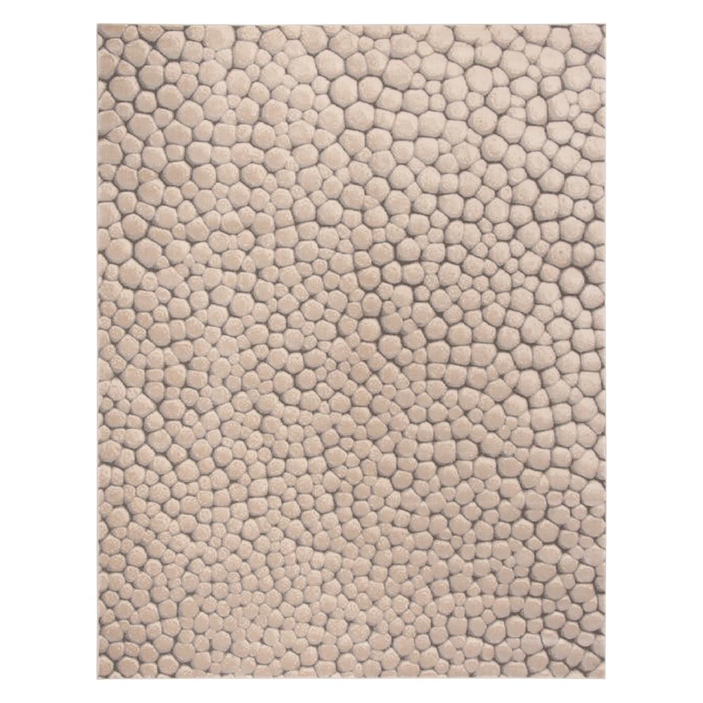 8'X10' Pebble Area Rug Beige - Safavieh