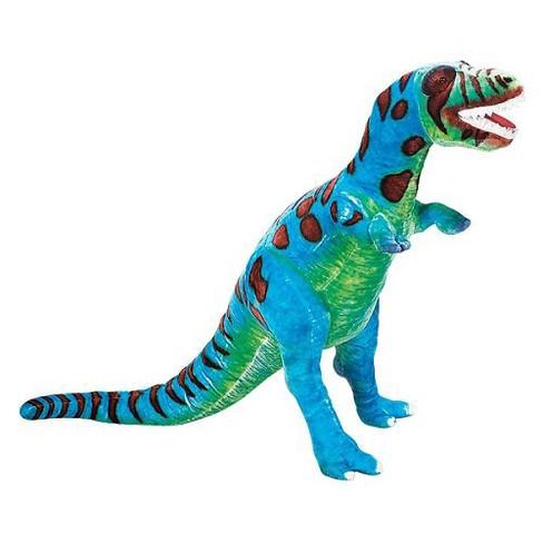 Melissa Doug Giant T Rex Dinosaur Lifelike Stuffed Animal Over