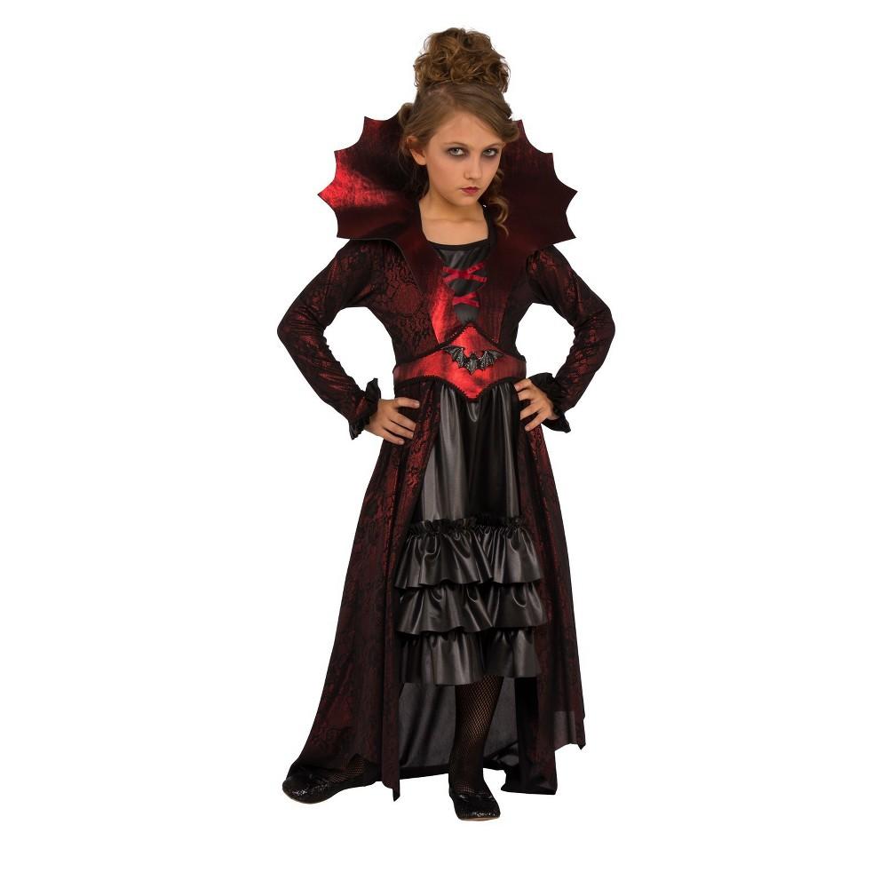 Girls' Victorian Vampire Halloween Costume L - Rubie's, Multicolored