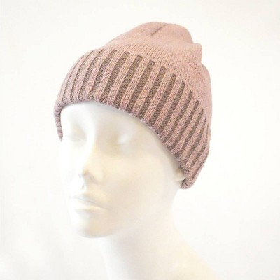 Isotoner Women's Recycled Knit Cuffed Beanie - Blush One Size