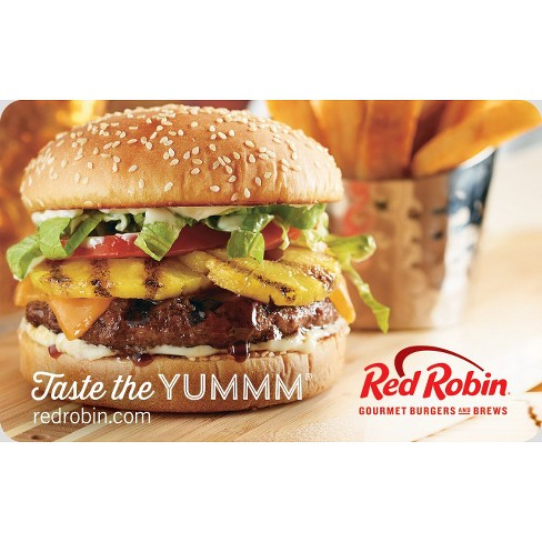 Red Robin Gift Card (Email Delivery) - image 1 of 1