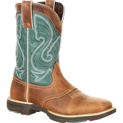 Durango Ultra-Lite Women's Emerald Saddle Western Boot