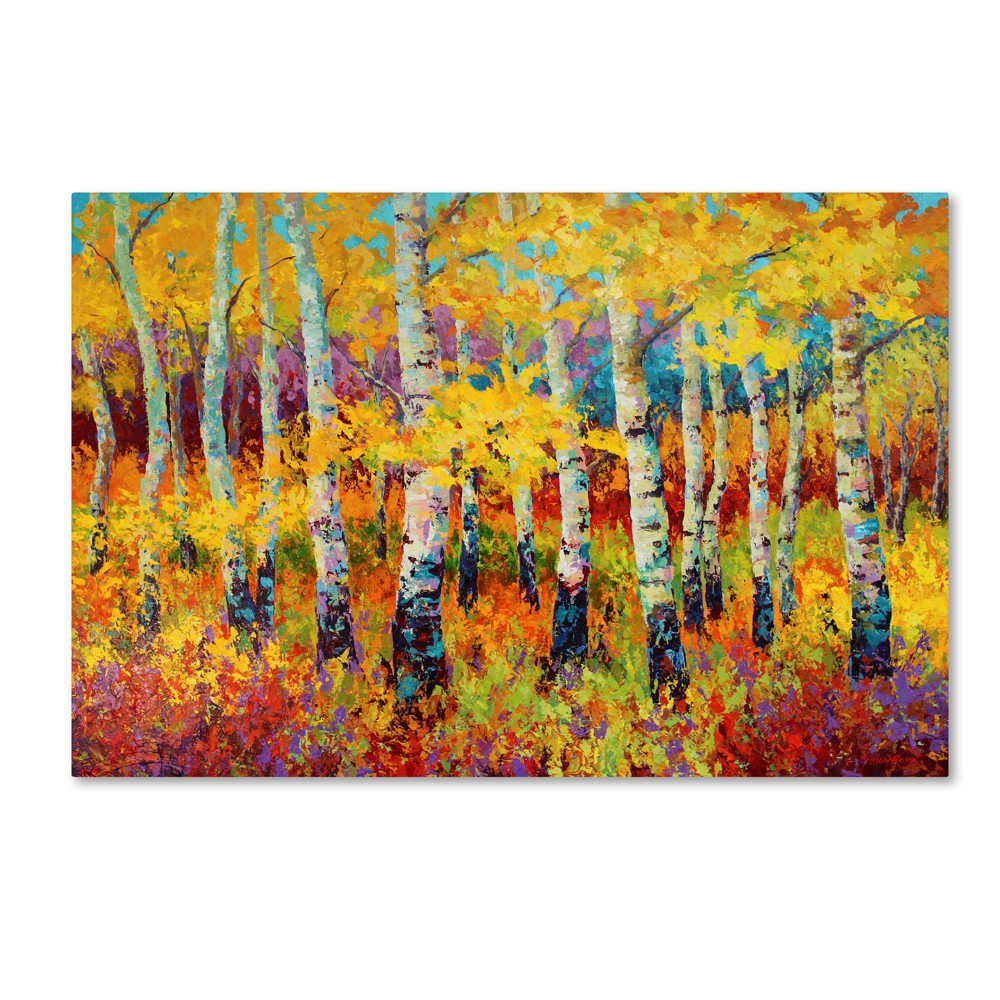 Marion Rose Autumn Rythmn Canvas Art 22