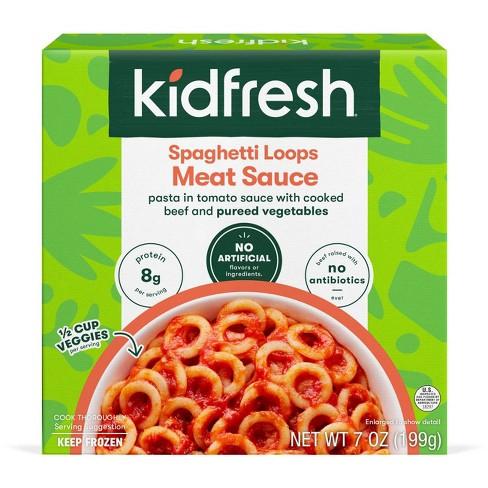 Kidfresh Frozen Spaghetti Loops Bolognese - 7oz - image 1 of 4