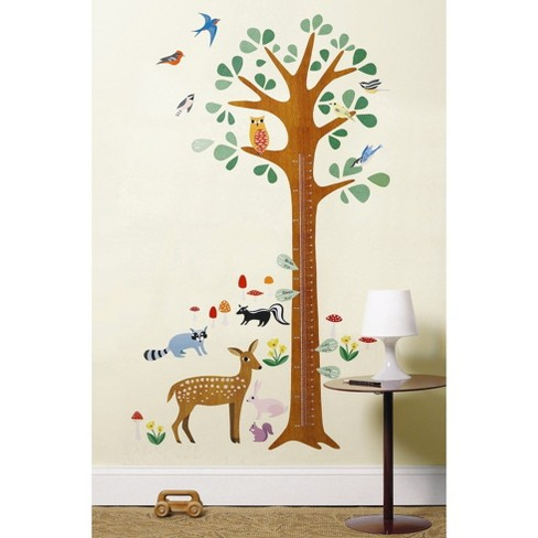 Wallies Wall Play Growth Chart Peel & Stick dcor - image 1 of 2