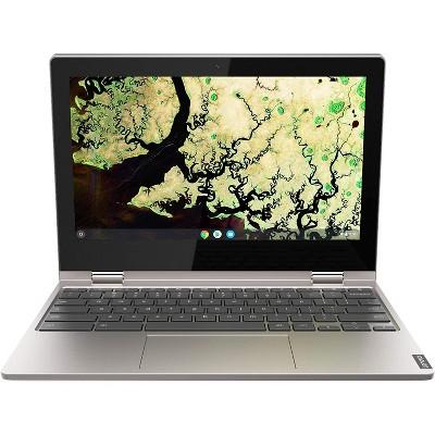 "Lenovo Chromebook C340 11.6"" HD (1366 x 768) 2-in-1 Touchscreen Laptop - Intel Celeron N4000, 4GB RAM, 32GB eMMC, Gray (Manufacturer Refurbished)"