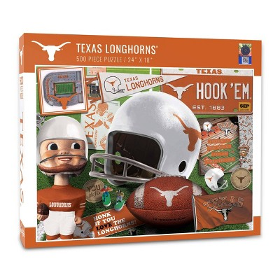 NCAA Texas Longhorns Throwback Puzzle 500pc