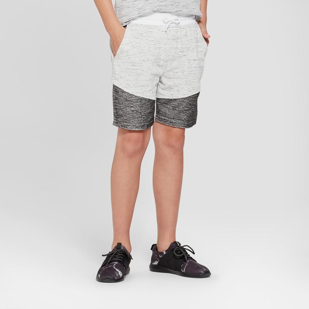 Boys' Knit Moto Shorts - art class Gray XL