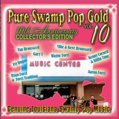 Various - Pure swamp pop gold:Vol 10 (CD) - image 1 of 2