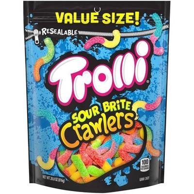 Gummy Candies: Trolli Sour Brite Crawlers