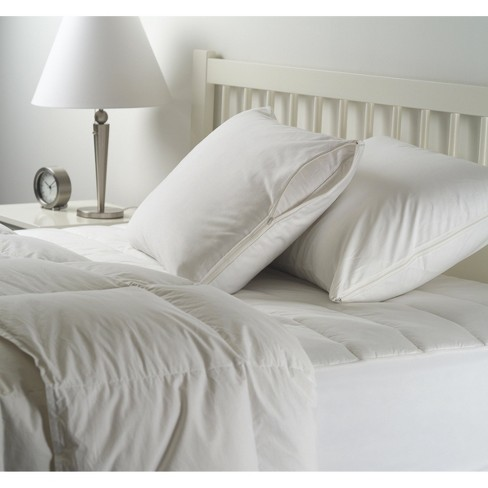 2 Pack Pillow Protector - White (Standard) - Room Essentials™ - image 1 of 1