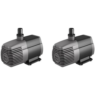 Hydrofarm AAPW1000 Active Aqua 1000 GPH Submersible Pond Water Pump, 2 Pack
