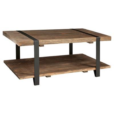 10  Coffee Table Brown - Alaterre Furniture®