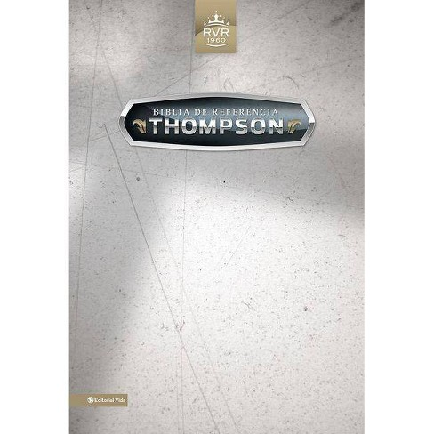 Biblia de Referencia Thompson-Rvr 1960 - 2 Edition by  Zondervan (Leather_bound) - image 1 of 1