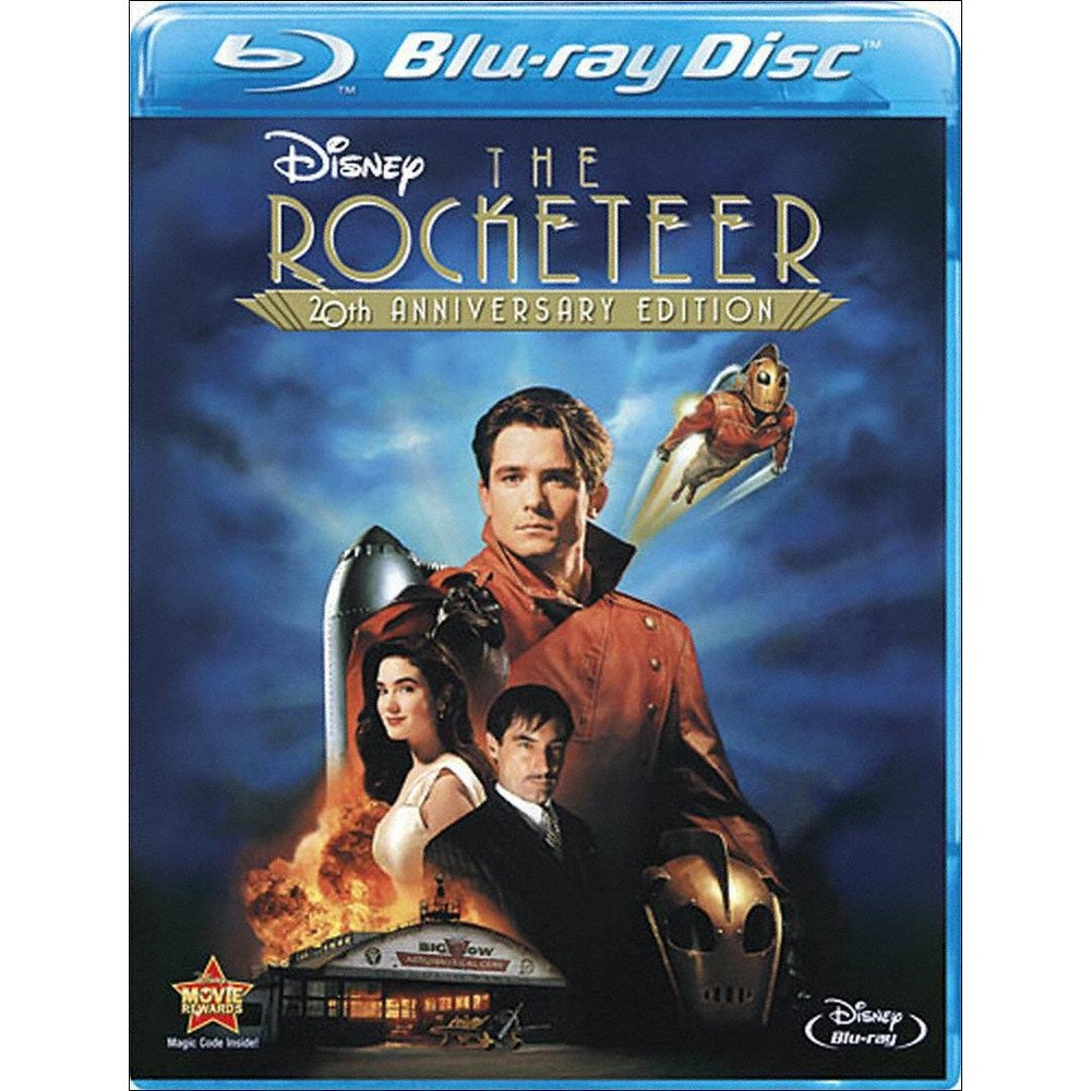 The Rocketeer 20th Anniversary Edition Blu Ray