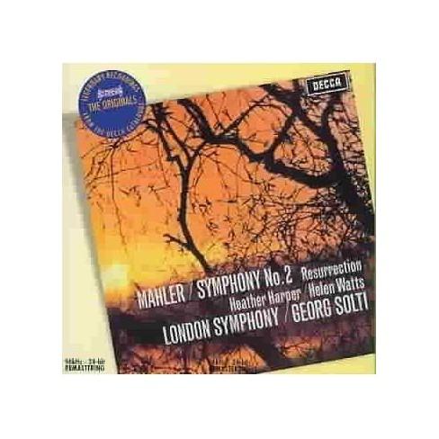 Mahler - Mahler: Symphony No. 2 Resurrection (CD) - image 1 of 1