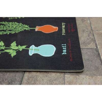 Multi Fresh Herbs Kitchen Comfort Floor Mat (18 X30 )