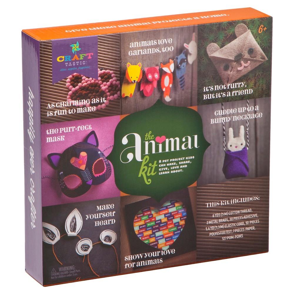 Craft-tastic Animals Kit, Craft Activity Kits
