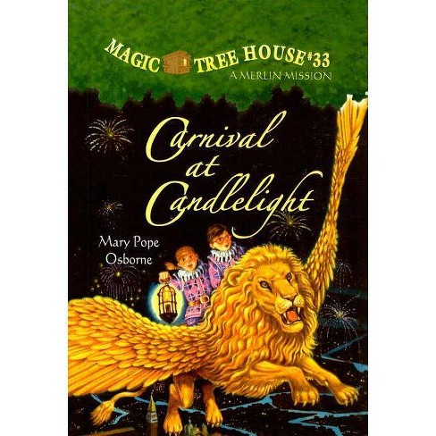 Carnival at Candlelight - (Magic Tree House) by  Mary Pope Osborne (Hardcover) - image 1 of 1