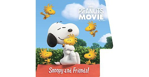 Snoopy and Friends! ( Peanuts Movie) (Media Tie-In) (Board) by Charles M. Schulz - image 1 of 1