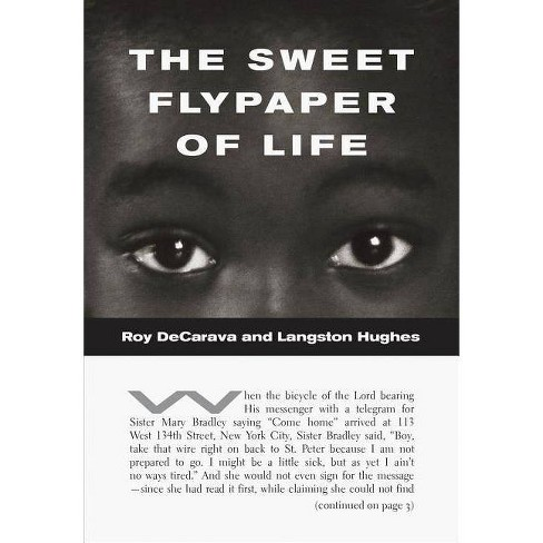 Roy Decarava and Langston Hughes: The Sweet Flypaper of Life - (Paperback) - image 1 of 1