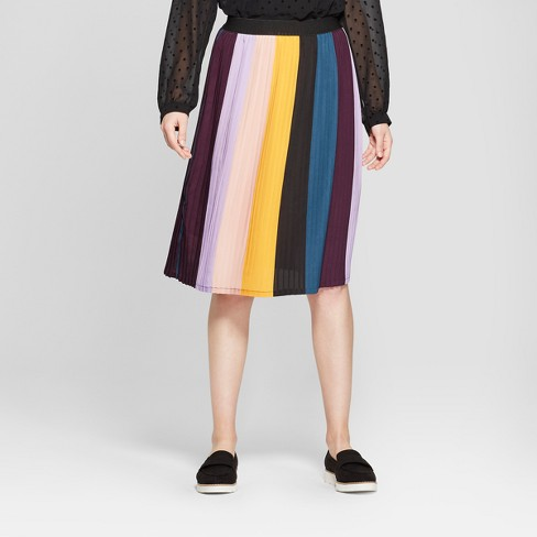Women's Pleated Skirt - A New Day™ Pink - image 1 of 3