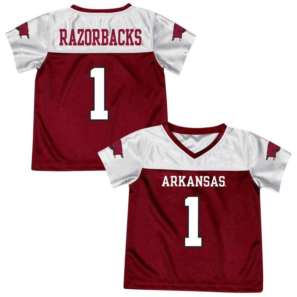 Athletic Jerseys Arkansas Razorbacks 2T, Multicolored