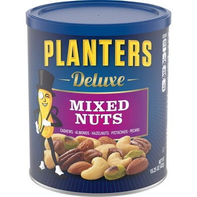 Planters Deluxe Sea Salt Mixed Nuts - 15.25oz