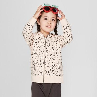 Toddler Girls' Hoodie Sweatshirt - Cat & Jack™ Just Peachy 12M
