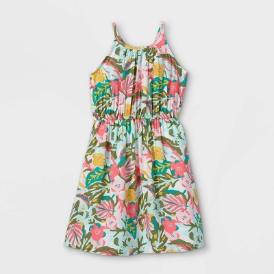 Girls' Woven Sleeveless Dress - Cat & Jack™
