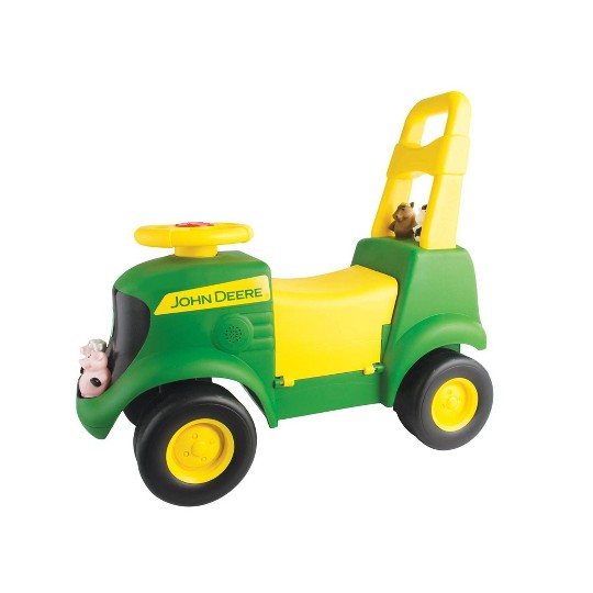 John Deere Sit N Scoot Activity Tractor - Green image number null