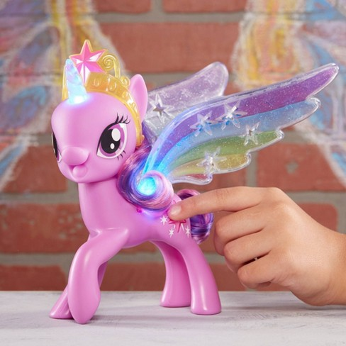 3a6c8c21f4b Shop all My Little Pony. Play My Little Pony Rainbow Wings Twilight Sparkle  -- Pony Figure with Lights and Moving