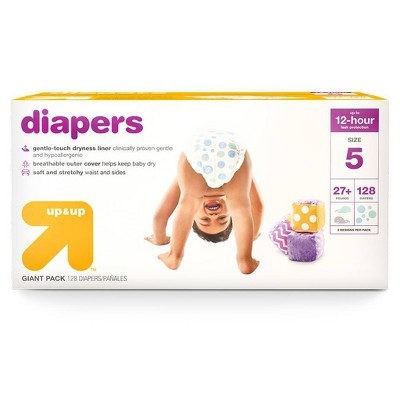 Diapers Giant Pack - Size 5 - 128ct - up & up™