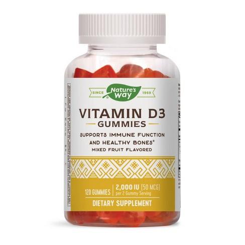 Nature's Way Vitamin D3 Gummy - 120ct - image 1 of 4