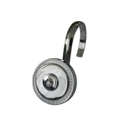 Shield Shower Hooks - Elegant Home Fashions