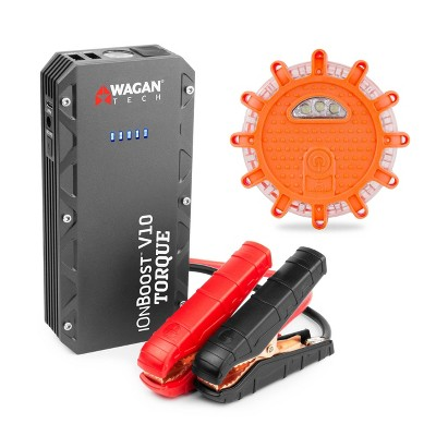 Wagan IonBoost V10 Torque Jump Starter with FRED Light
