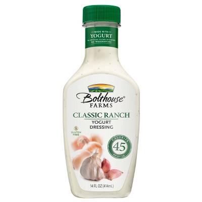 Bolthouse Farms Classic Ranch Yogurt Dressing - 14oz