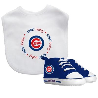 Chicago Cubs Bib & Prewalker Gift Set