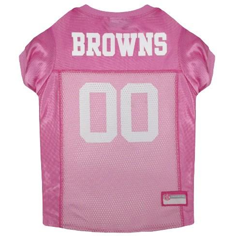 923d96fec NFL Pets First Pink Pet Football Jersey - Cleveland Browns. Shop all NFL