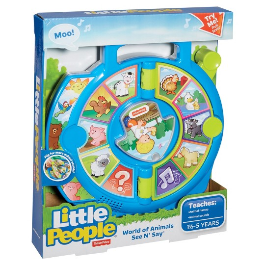 Fisher-Price Little People World of Animals See 'n Say image number null
