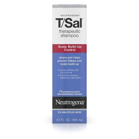 Neutrogena T/Sal Scalp Build-Up Control Therapeutic Shampoo - 4.5oz - image 1 of 8