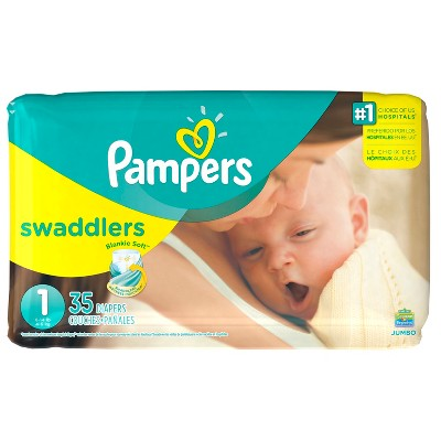 Pampers Swaddlers Diapers Jumbo Packs - Size 1 (32ct)