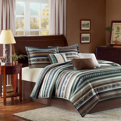 Blue Beau Comforter Set 7pc 7pc