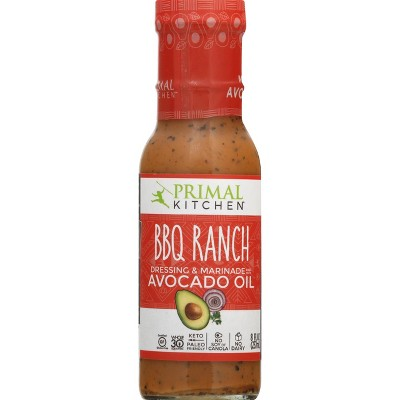 Primal Kitchen Dairy-Free Barbeque Ranch Dressing with Avocado Oil 8fl oz