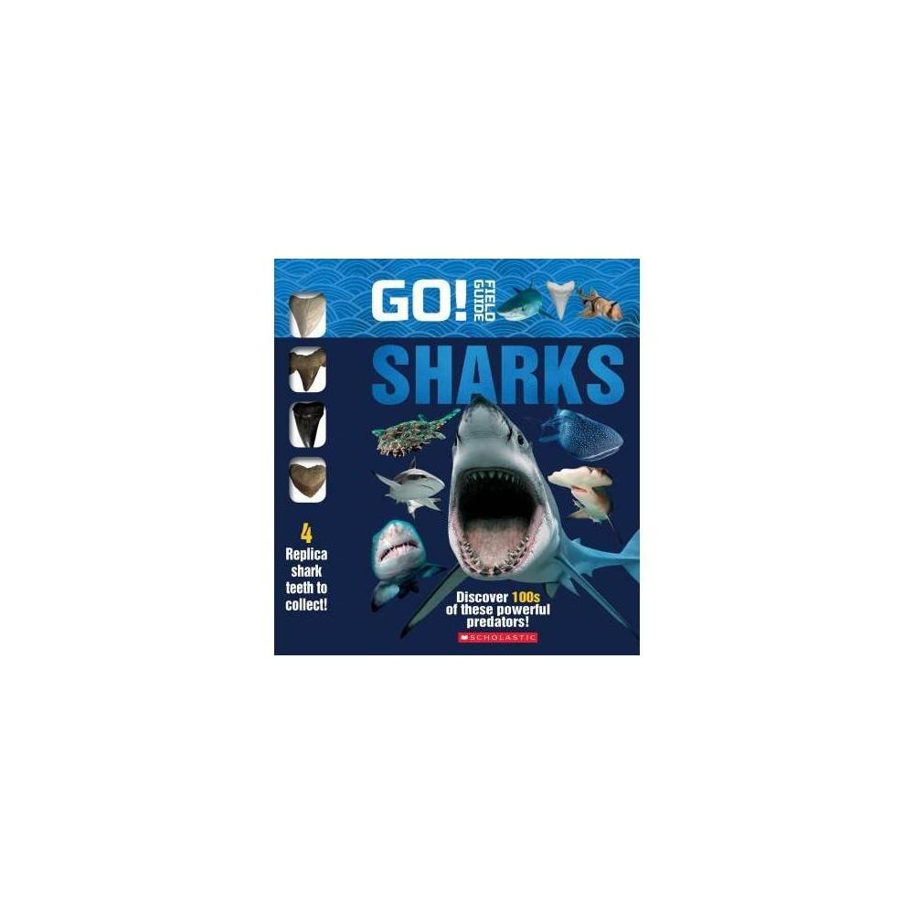 Go! Field Guide : Sharks - (Hardcover)