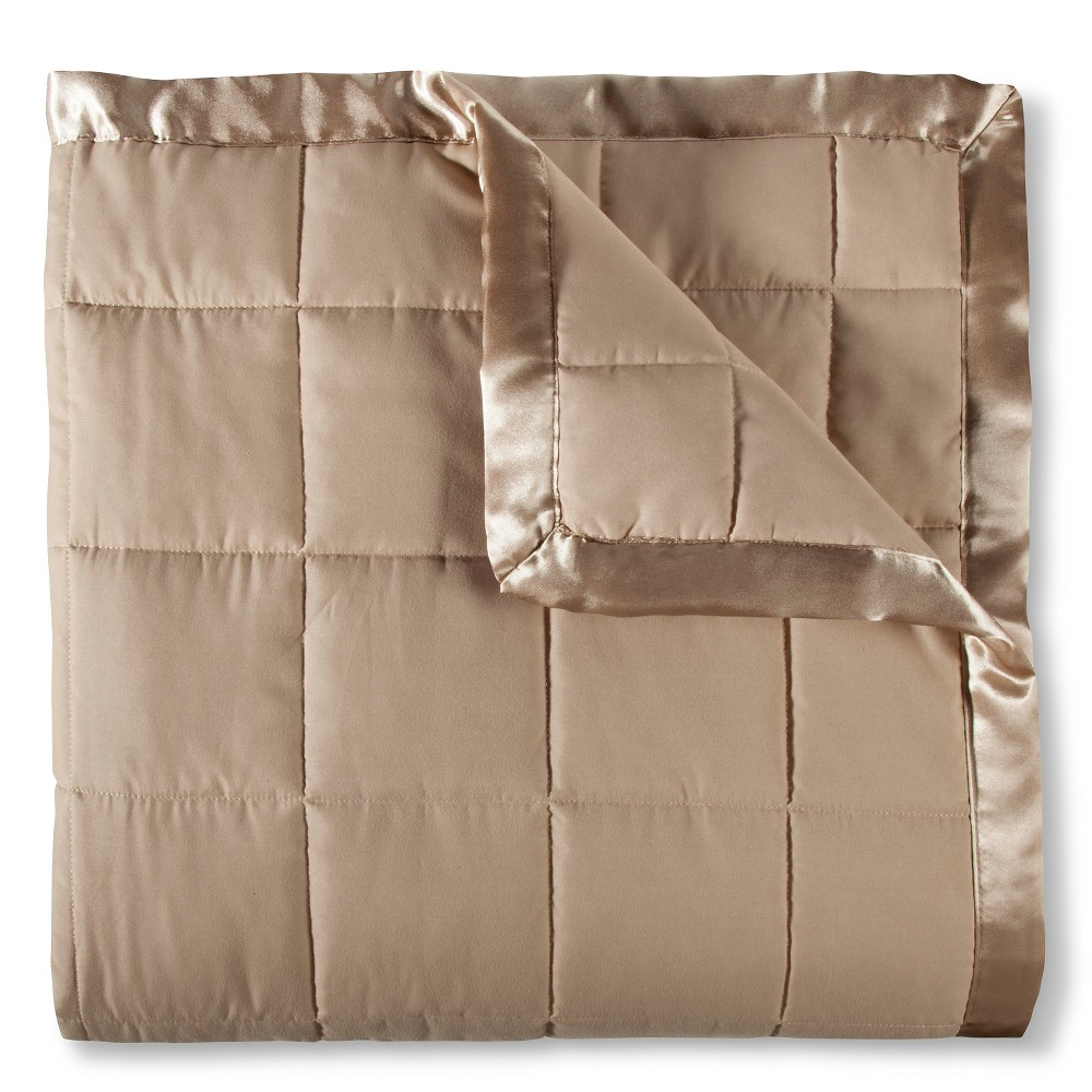 Image of Elite Home Down Alt Microfiber Blanket - Tan (Twin)