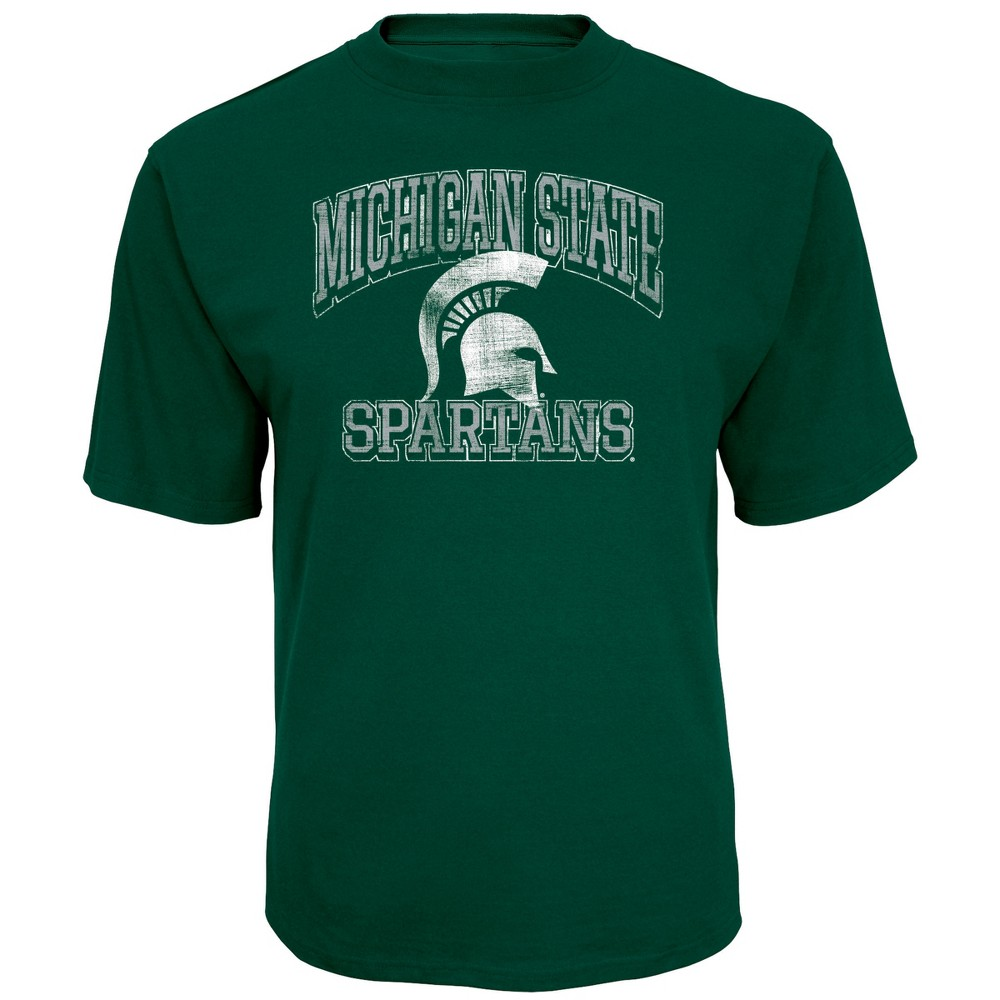 NCAA Men's Short Sleeve TC T-Shirt Michigan State Spartans - L, Multicolored
