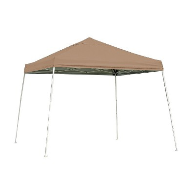Shelter Logic 10' x 10' Sport Slant Leg Pop-Up Canopy - Desert Bronze