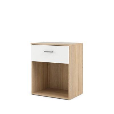 1 Drawer Nightstand in White - Tvilum
