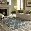 5'x7' Fretwork Design Area Rug Gray - Threshold™ - image 4 of 4